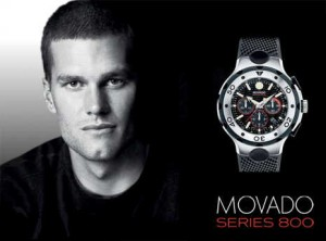 movado watches for men - tom brady
