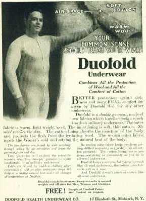 duo fold Vintage Mens Underwear