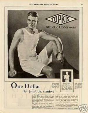 Vintage Mens Underwear advertisements