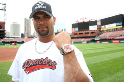 Celebrities Wearing Reactor Watches Albert Pujols