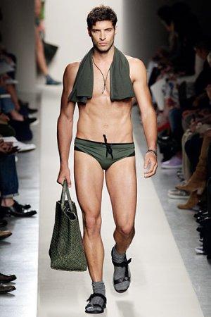 italian mens swimtrunks. bottega veneta menswear fashion