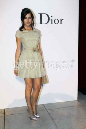 celebrity christian dior fashion style - camilla belle