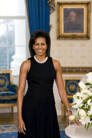Michelle Obama watch cartier