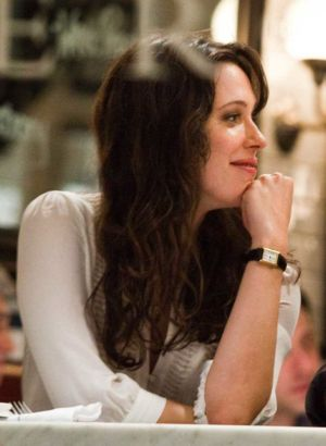 celebrity cartier watches - rebecca hall