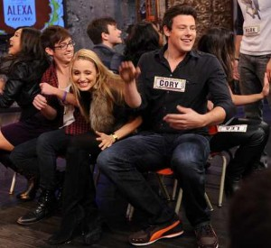 celebrities wearing puma shoes cory monteith
