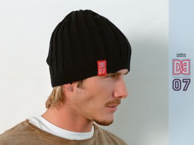 david beckham beanie hats