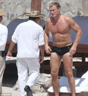 Dolph Lundgren Speedo swimsuit