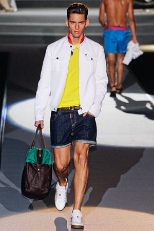 white jackets for men. spring jackets by dsquared