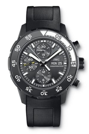 iwc aquatimer watch galapagos