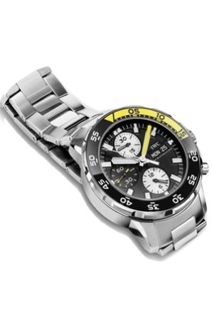 iwc aquatimer watch for men eric dane