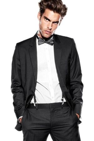h&m tuxedo for men - formal wear - jon kortajarena male model