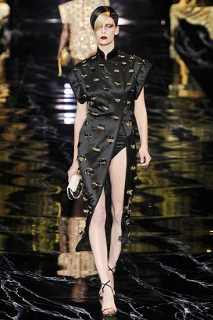 lv black mazi dress. chinese womens dress