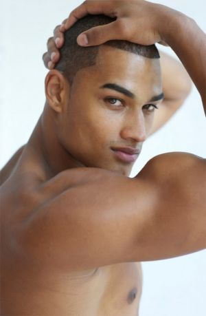 hot british men hottest black male model rob evans
