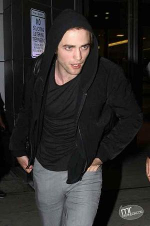 robert pattinson leather jacket diesel