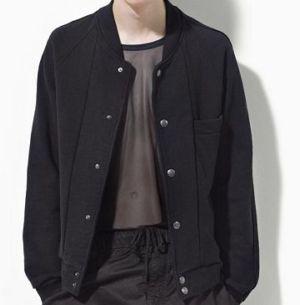 baseball jacket by marc jacobs on robert pattinson