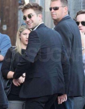 celebrity sunglasses. robert pattinson wearing oliver peoples sheldrake sunglasses