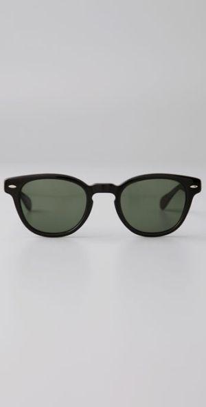 celebrity wearing oliver peoples sheldrake sunglasses