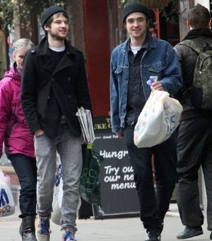 robert pattinson jacket id wear classic blue denim jacket