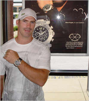 Celebrities Wearing Reactor Watches Barrett Jackman