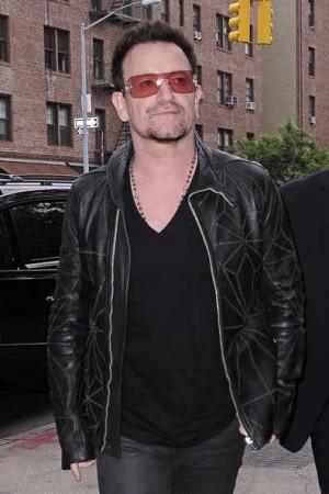 bono old men leather jacket
