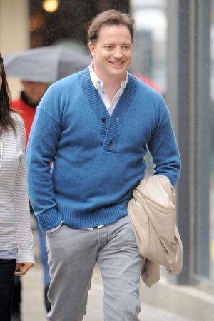 big men sweater blue cardigan