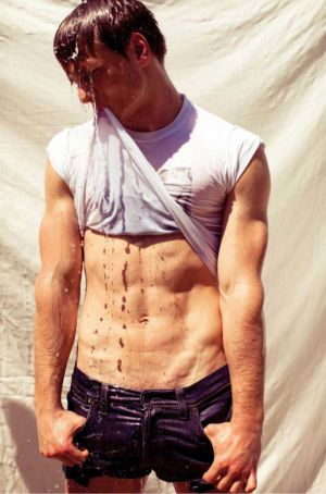 hot italian men - male model francesco brunetti