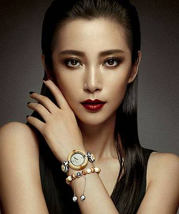 gucci ladies watch - Li Bingbing Bamboo Timepiece and Bracelet