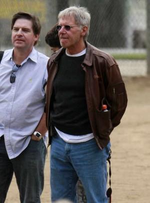 old men leather jacket harrison ford