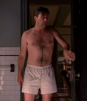 jon hamm underwear shirtless