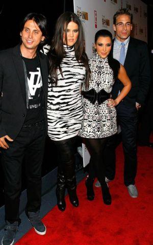 khloe kardashian animal print dress