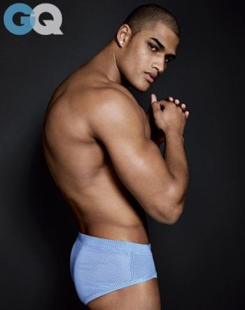 rob evans underwear - top black male models gq