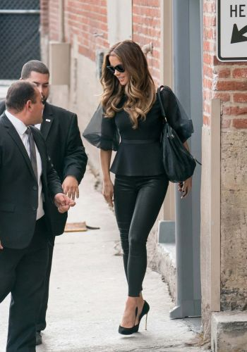 tight leather pants for girls - kate beckinsale