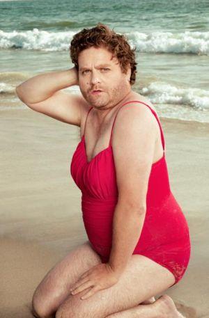 Womens Swimsuit for Men zach galifianakis