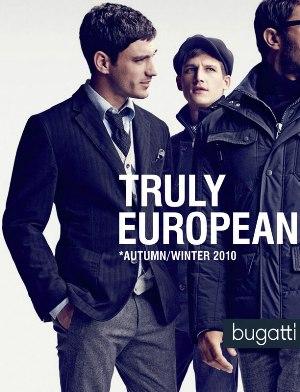 italian suits for men - bugatti truly european campaign