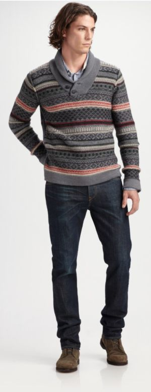 winter sweaters for men by saks fifth avenue