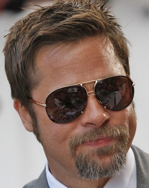 celebrity eyewear - tom ford pablo worn by Brad Pitt
