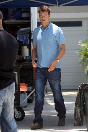 raven jeans for men - faded blue - josh duhamel wearing jeans