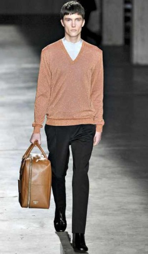 fashionable prada mens sweater