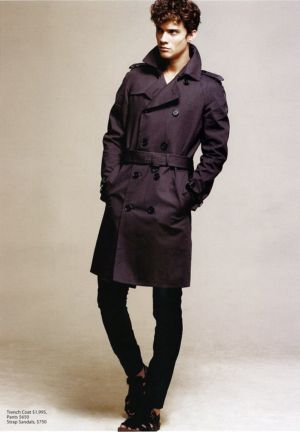 long winter coats by burberry prorsum