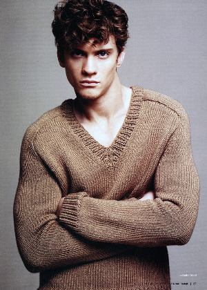 v neck sweaters for men by burberry menswear