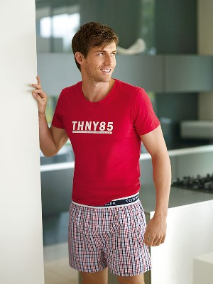 tommy hilfiger boxer shorts on male model