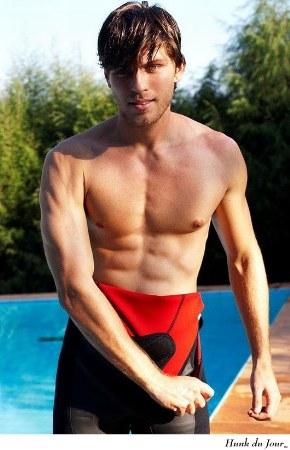 hot brazilian male models augusto coronado wet suit