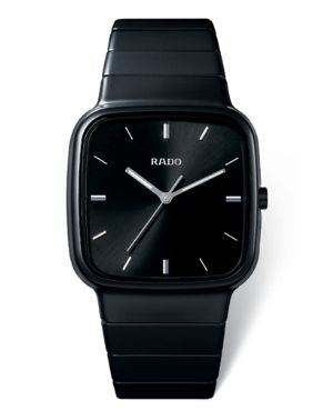 square face watch by rado