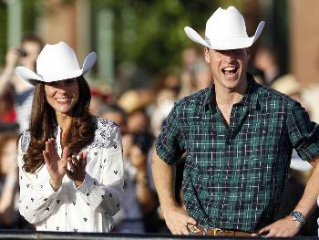 celebrities wearing stetson cowboy hats - prince william