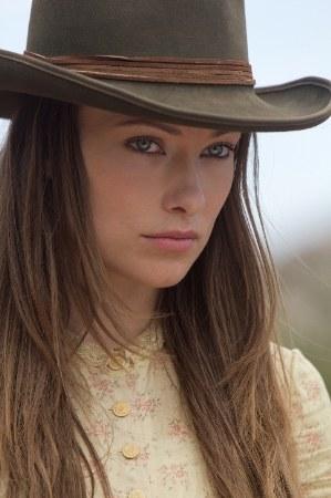 movie cowboy hats - olivia wilde