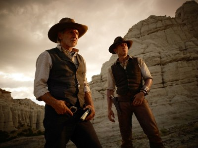 movie cowboy hats - cowboys and aliens starring harrison ford and daniel craig