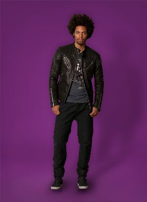black leather jacket by diesel for men