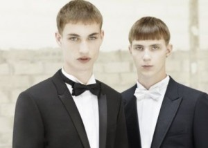 Dior Homme Tuxedo Suits for men
