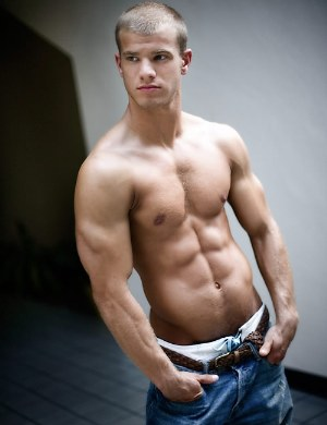 men with six pack abs evan wadle