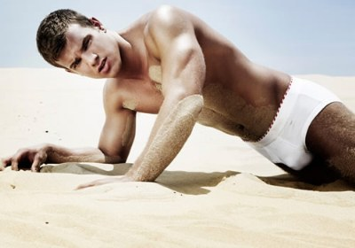 evan waddle fitness model underwear